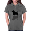 Artistic Scottish Terrier Reflections Art Womens Polo