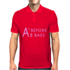 A's Before Baes Mens Polo