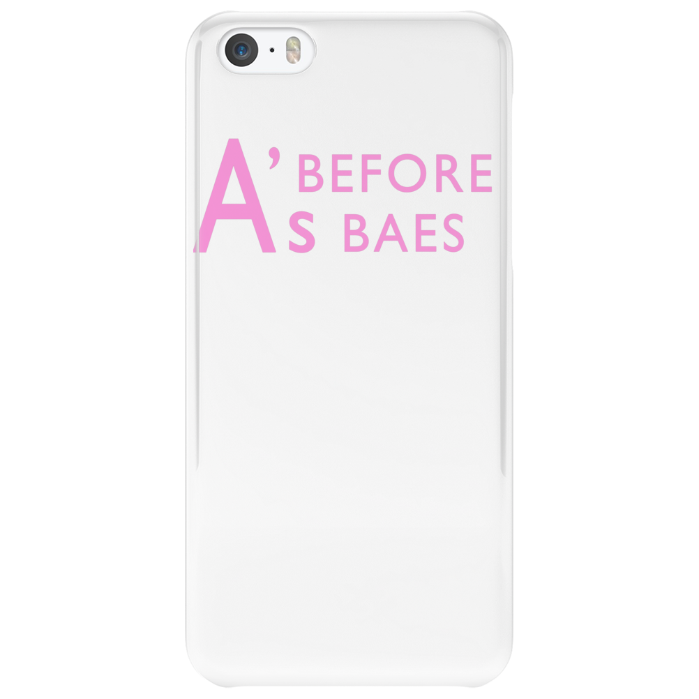 A's Before Baes Phone Case