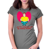 As i've outgrwn all my clothes Womens Fitted T-Shirt