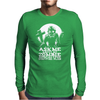 Ask Me About My Zombie apocalypse Survival Plan Mens Long Sleeve T-Shirt