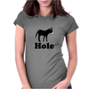 Asshole Womens Fitted T-Shirt
