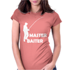 aster Baiter Mens Rude Fishing Womens Fitted T-Shirt