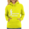 aster Baiter Mens Rude Fishing Womens Hoodie