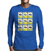 Aston Martin Top Trumps Mens Long Sleeve T-Shirt