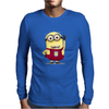 ASTON VILLA MINIONS Movie Despicable Me Football Funny Mens Long Sleeve T-Shirt