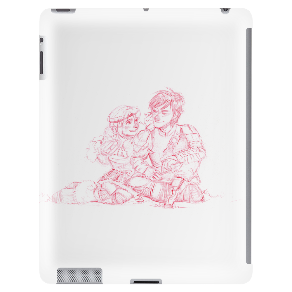 Astrid and Hiccup Tablet