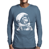 Astronaut Chimp Mens Long Sleeve T-Shirt