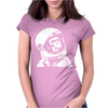 Astronaut Chimp Womens Fitted T-Shirt