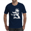 ASTRONAUT READING BOOK Mens T-Shirt