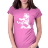 ASTRONAUT READING BOOK Womens Fitted T-Shirt