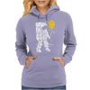 Astronaut With A Balloon Womens Hoodie