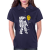 Astronaut With A Balloon Womens Polo