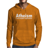 Atheism - A Non Profit Organisation Mens Hoodie