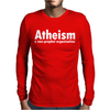 Atheism - A Non Profit Organisation Mens Long Sleeve T-Shirt
