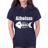 Atheism Fish Skeleton Womens Polo