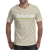 Atheism funny retro religion Jesus Christ believer comic God Mens T-Shirt