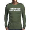 ATHEIST ATHEISM Mens Long Sleeve T-Shirt