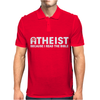 ATHEIST BIBLE LIES GOD SINNER AGNOSTIC HUMANIST ATHIEST Mens Polo
