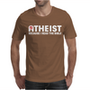 ATHEIST BIBLE LIES GOD SINNER AGNOSTIC HUMANIST ATHIEST Mens T-Shirt
