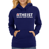 ATHEIST BIBLE LIES GOD SINNER AGNOSTIC HUMANIST ATHIEST Womens Hoodie