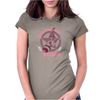 Atom Bomb Baby, facing the end of the world like a champ. Womens Fitted T-Shirt