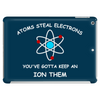 Atoms steal electrons wrb Tablet