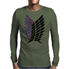 attack on titan Mens Long Sleeve T-Shirt