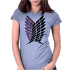 attack on titan Womens Fitted T-Shirt