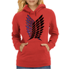 attack on titan Womens Hoodie