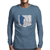 Attack on titans Mens Long Sleeve T-Shirt