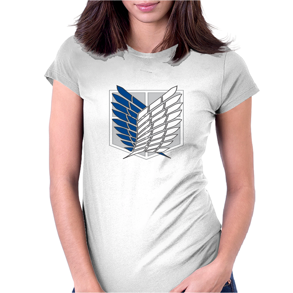Attack on titans Womens Fitted T-Shirt