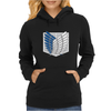 Attack on titans Womens Hoodie