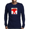Attentive Heart Mens Long Sleeve T-Shirt