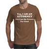 Attorney Mens T-Shirt