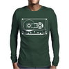 Audio Cassette 80's 90's Party Hip Hop Nostalgia Retro Mens Long Sleeve T-Shirt