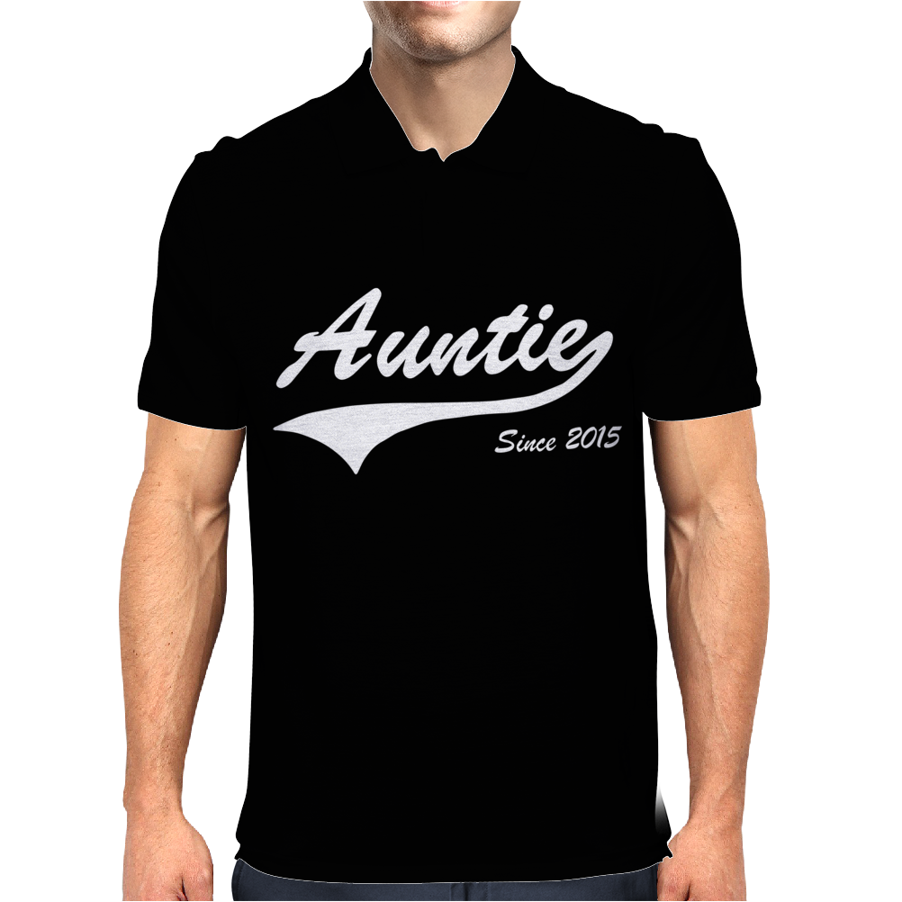 Auntie Since 2015 Mens Polo