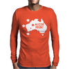 Aussie Pride Mens Long Sleeve T-Shirt