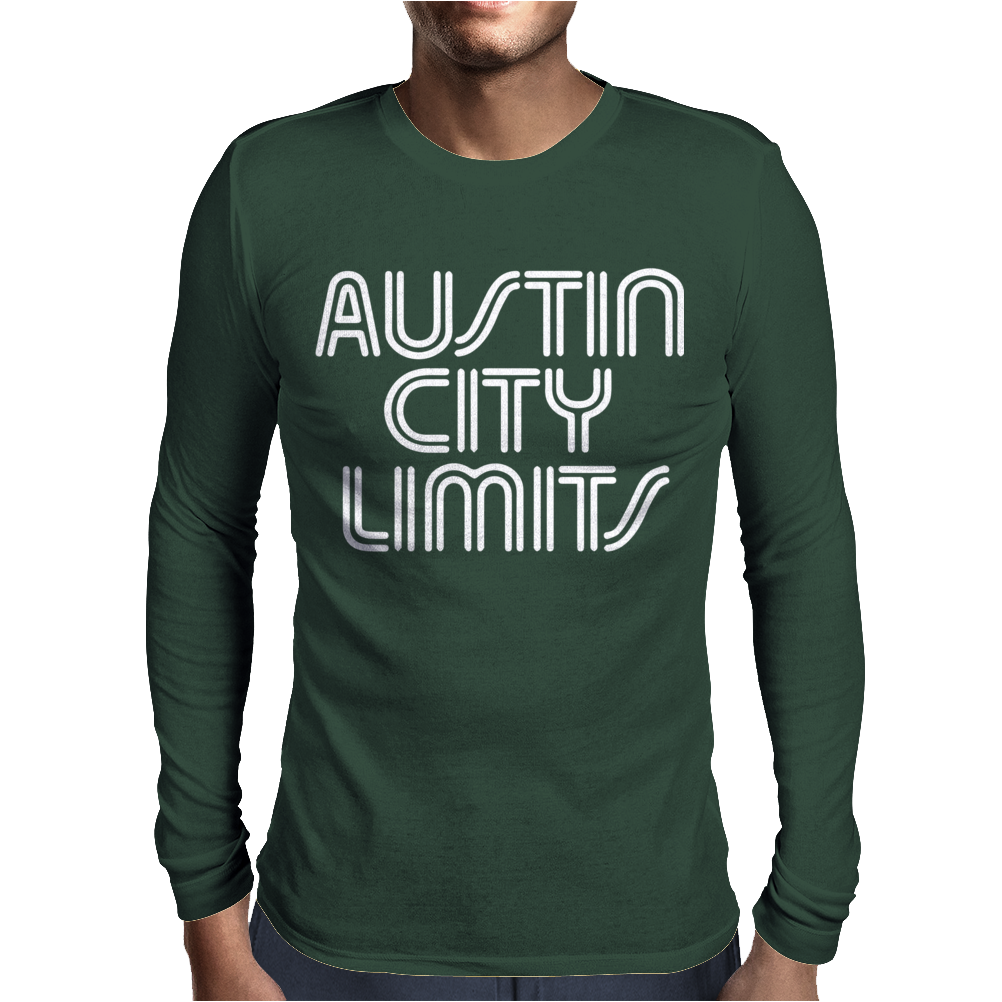 Austin City Limits Mens Long Sleeve T-Shirt