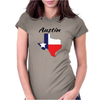Austin Texas Womens Fitted T-Shirt