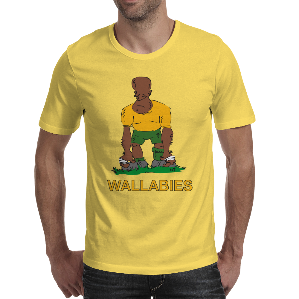 Australia Rugby 2nd Row Forward World Cup Mens T-Shirt
