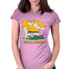 Australia Rugby Forward World Cup Womens Fitted T-Shirt