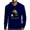 Australia Rugby Kicker World Cup Mens Hoodie