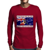 Australian Blues, Written In Blood Mens Long Sleeve T-Shirt