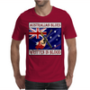 Australian Blues-Written In Blood Mens T-Shirt