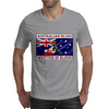 Australian Blues, Written In Blood Mens T-Shirt