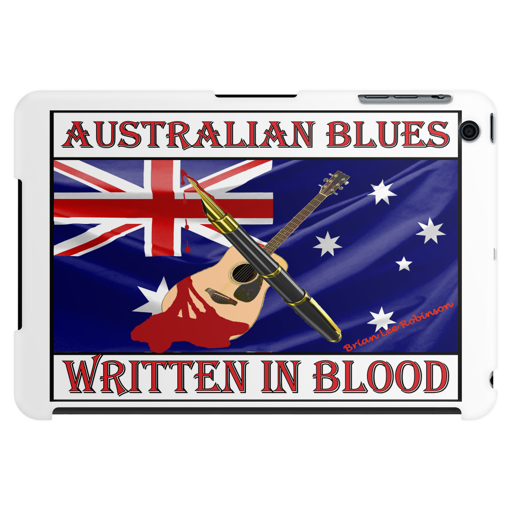 Australian Blues, Written In Blood Tablet (horizontal)