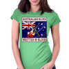 Australian Blues-Written In Blood Womens Fitted T-Shirt