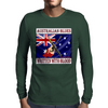 Australian Blues- Written With Blood Mens Long Sleeve T-Shirt