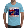 Australian Blues- Written With Blood Mens T-Shirt